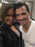 R&B Singer El Debarge (right)